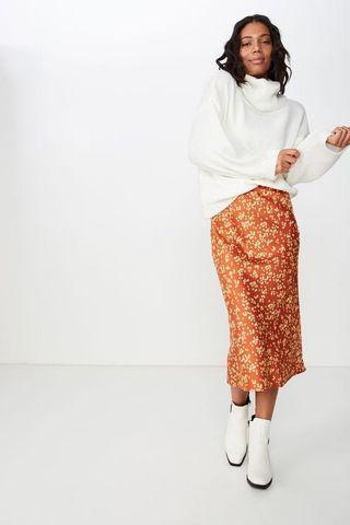 Cotton On Midi Skirt
