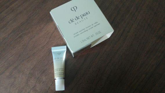 Cle de peau wrinkle smoothing serum supreme 1.5ml