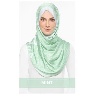BRAND NEW 100% Authentic The Alhambra Instant Shawl in Mint dUCk