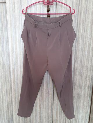 Brown working pants
