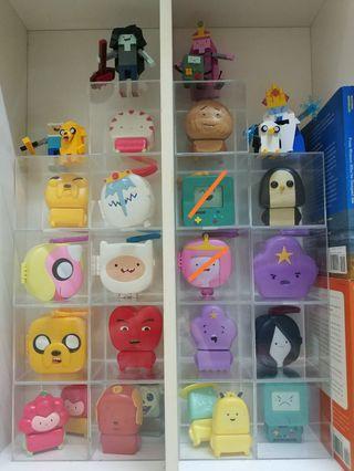 Adventure Time McDonald Toys (Not including Legos)