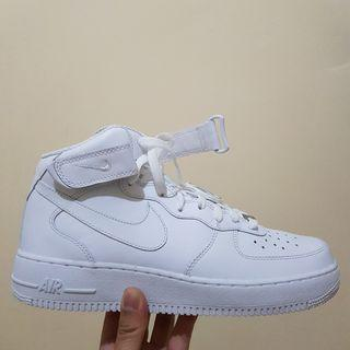 Nike Air Force 1 Mid '07 White #maugopay