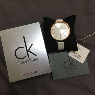 CK 光芒系列(K3E236L6)玫瑰金腕錶/白面40.5mm