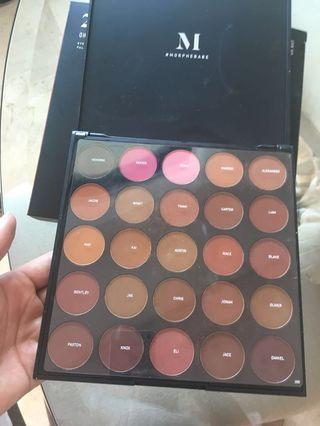 Morphe USA eyeshadow palette 25D