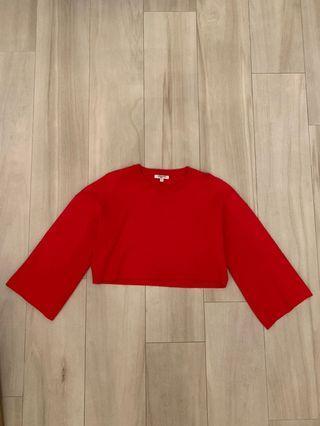 Sweewë red crop top