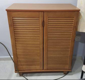 🚚 Wooden Shoe Cabinet