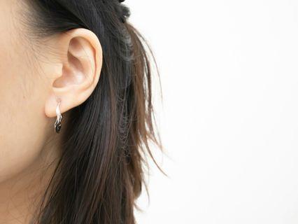 925純銀vintage 耳環圈