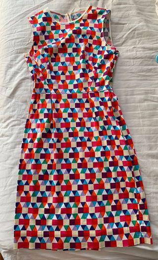 Kate Spade retro print dress