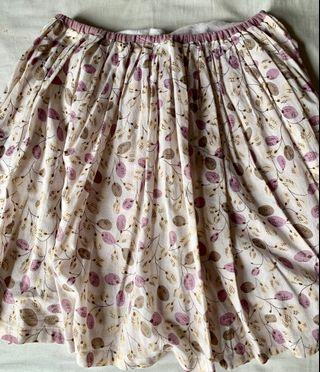 Gingersnap cotton skirt