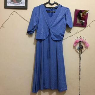 #maugopay Dress Biru Tembalang Semarang