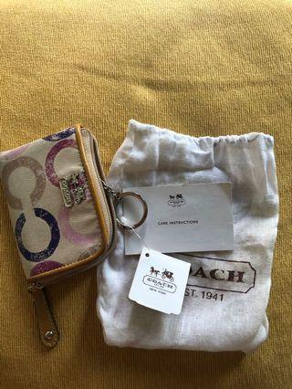 Coin purse card wallet zipper