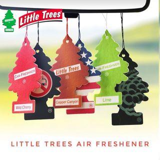⚡️Little Trees 6 Pack Air Freshener Car Detailing Grooming Chemical Guys USA