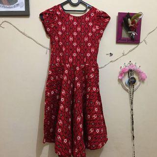 #maugopay Dress Merah