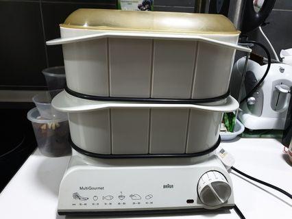 Braun food steamer