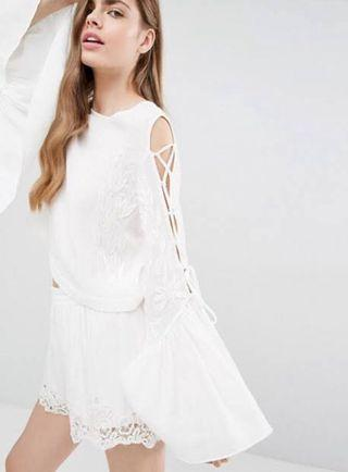 Alice McCall A Love Like That Flare Sleeve Top