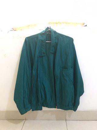Jaket Hijau Parasut 90's
