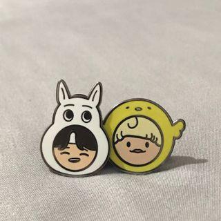 NCT Renjun & Jisung Enamel Pin!