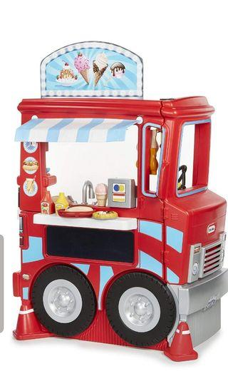 🚚 BNIB Sale Little Tikes 2 in 1 Food Truck Kitchen Set not kidkraft vtech leapfrog fisher price