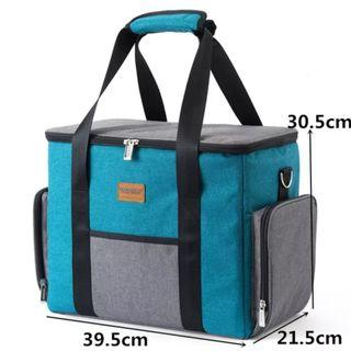 🚚 Large Insulated Cooler Food Grocery Bag
