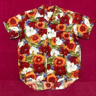 Vintage Hawaiian Floral Shirt