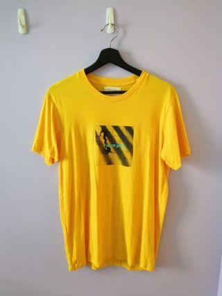 🚚 Cotton On Yellow Mens T-shirt