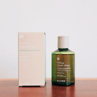 BLITHE Patting Splash Mask Green Tea Healing & Soothing