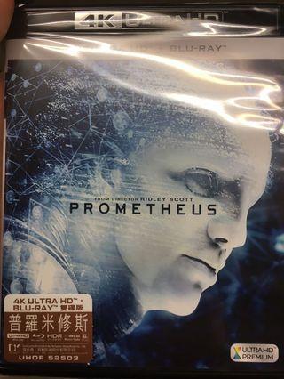 Prometheus 普羅米修斯 港版 Blu-ray 藍光