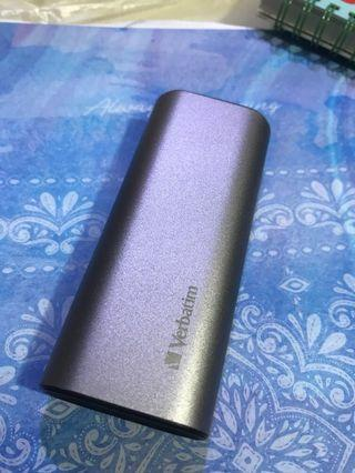 特平 Verbatim 5200mAh charger power bank 充電寶 尿袋