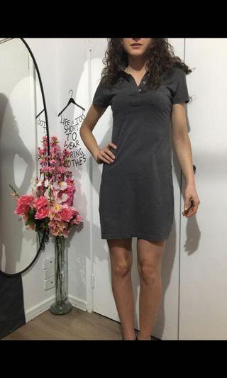 American Apparel grey cotton dress size S