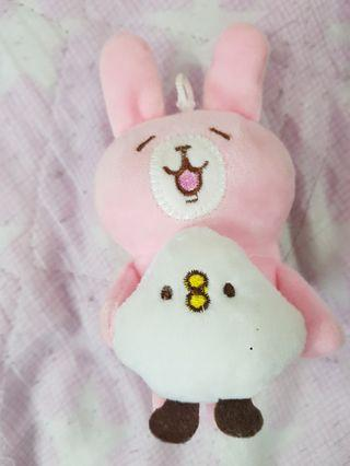 🚚 Cartoon Character Pink Plush Toy