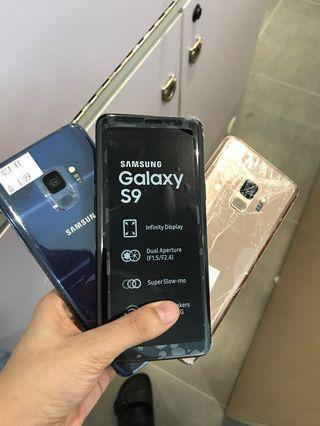Samsung s9 demo set