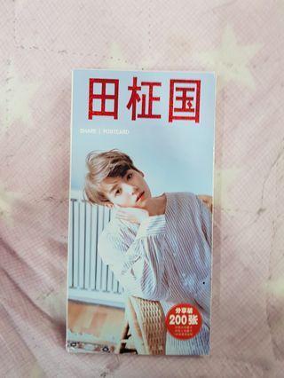 🚚 BTS Jungkook Share Postcard Full Pack