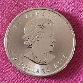 Reserved, 2015 Canada 1 Oz Silver Coin