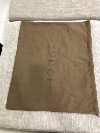 Gucci專櫃防塵袋(大)經典版布料!已絕版!!