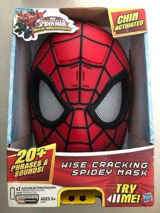 Marvel Ultimate Spider-Man Web-Warriors Wise Cracking Spidey Mask