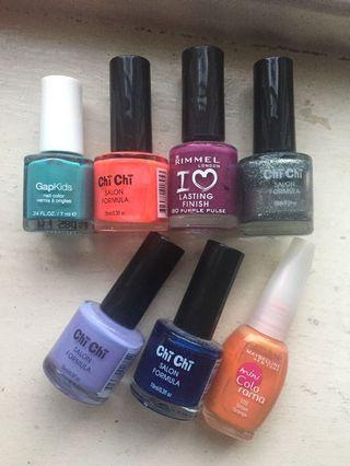 $5 bundle nail polish