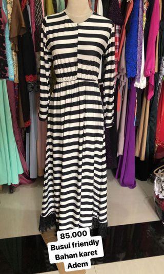 Busui dress bahan adem