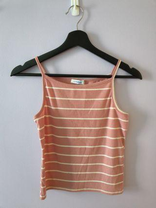 🚚 Pink Striped Camisole