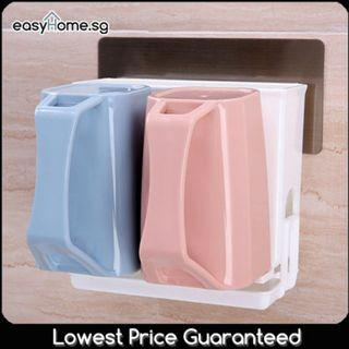 SQ5173 Toothpaste Toothbrush Holder Rack