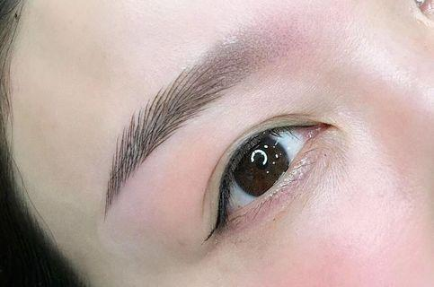 Simulation eyebrow