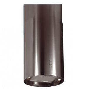 Turbo Incanto T123ISS Dia 40cm Island Hood With Stainless Steel Finish