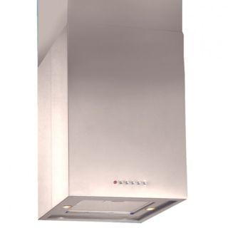 Turbo IncantoT124ISS 40cm Wide Island Hood With Stainless Steel Finish