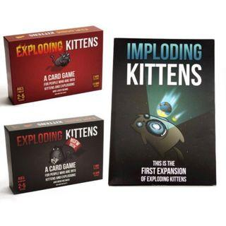 Exploding Kitten Original NSFW / Imploding Kittens