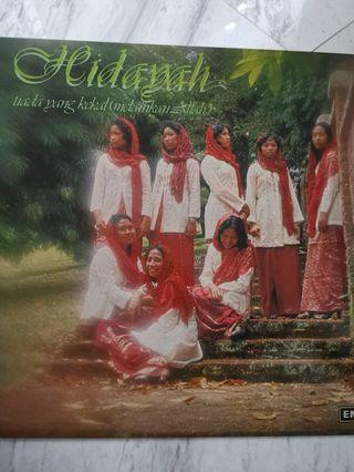 Hidayah malay vinyl record lp