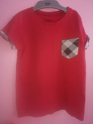 🚚 Moley Red Tshirt