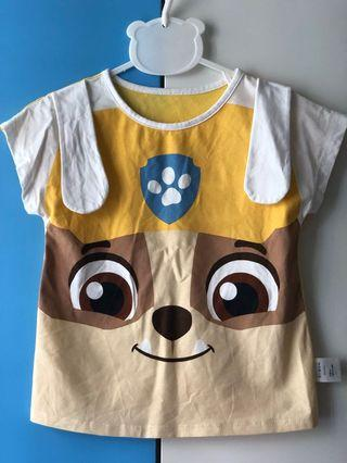 🚚 { Decluttering } Preloved Paw Patrol Tee (Rubble and Marshall)