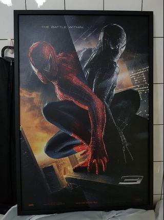 蜘蛛人電影原版海報