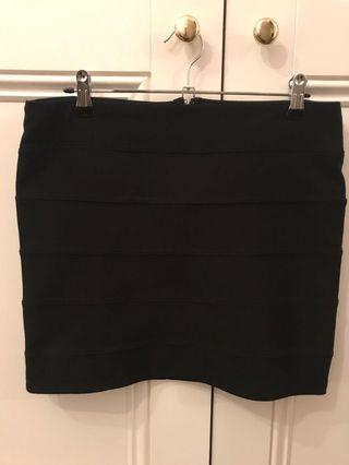 Classic Black Bodycon Skirt