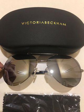 Victoria beckham feather sunglasses new. (1:1 miror)