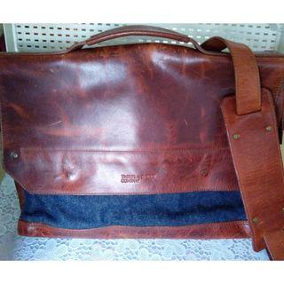 Timberland Leather Denim bag